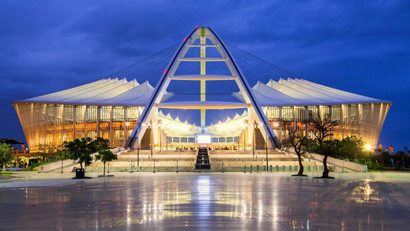 attractions nearby umhlanga - Moses Mabhida Stadium