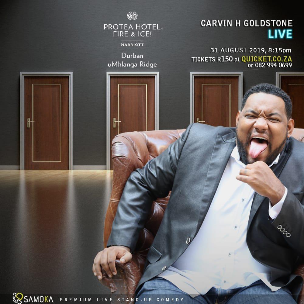 Carvin Goldsone Umhlanga Gig