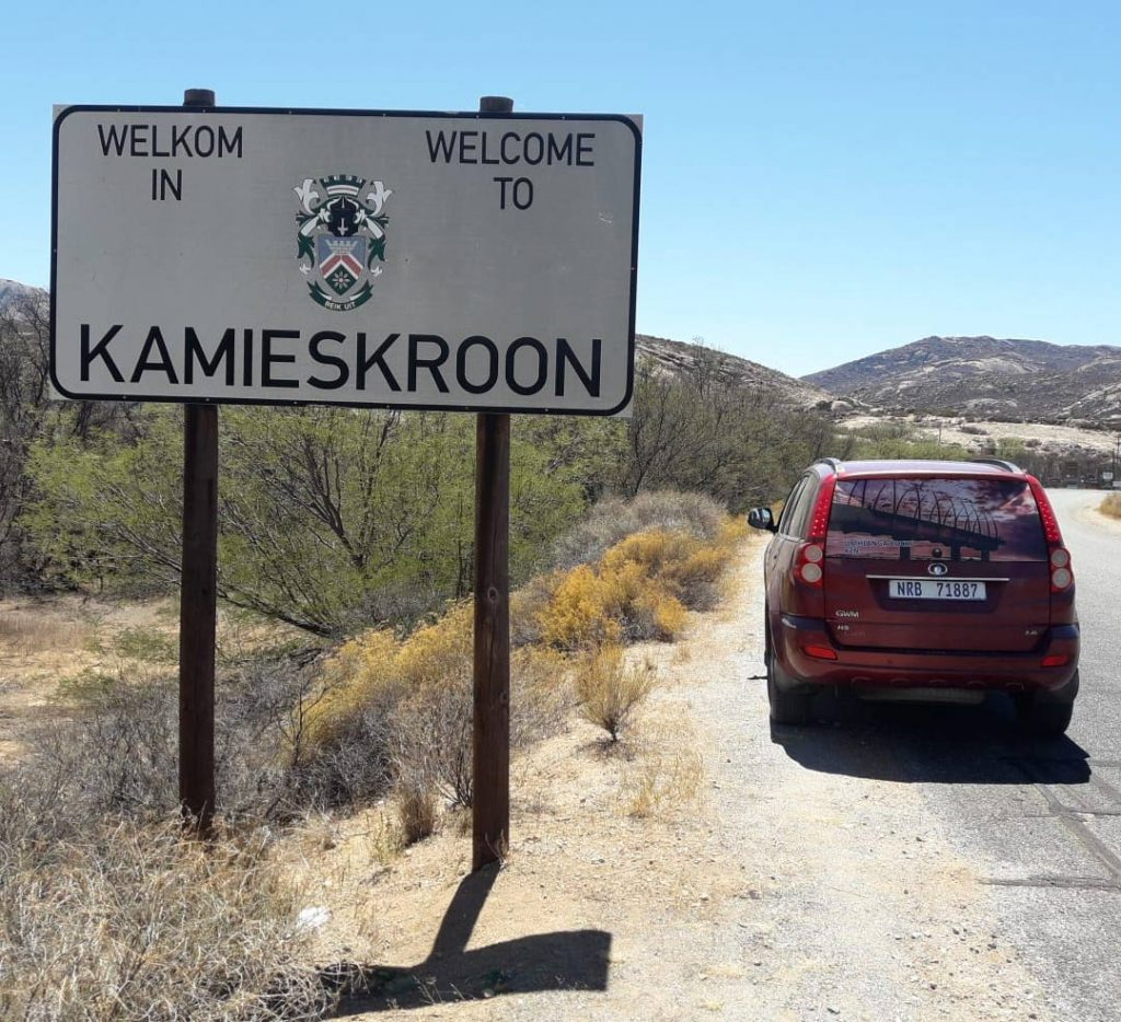 Another look-in for the Umhlanga peier, this time at Kamieskroon in the Northern Cape.