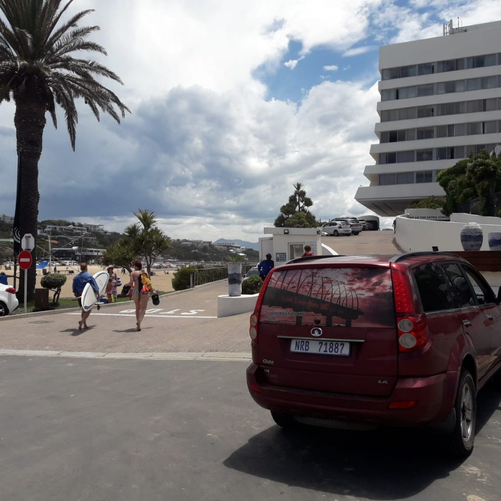 The Umhlanga pier gets publicity in Plettenberg Bay