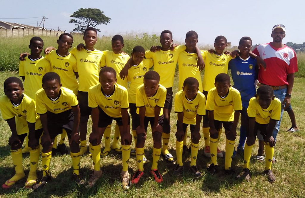 Soccer team Umhlanga football